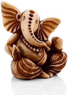 CraftVatika Lord Ganesha Statue for Car Dashboard Decor Hindu Idol God Ganesh Decorative Sculpture Ganpati Car Decor
