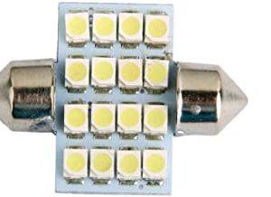 Generic led car bulb 31mm 3528 16 leds smd dome map interior light lamp 12v white