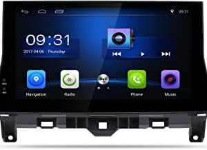 Nunoo Compatible with Honda Accord 2008-2013 10.1 Inch Android7.1 Car Stereo Multimedia Video Player GPS Navigation System Radio 2+32GB HD Touch Screen Bluetooth USB 1080P